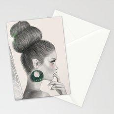 fairy Drawing (Digital Art) Stationery Cards