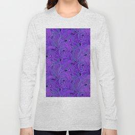 paisley paisley purple Long Sleeve T-shirt
