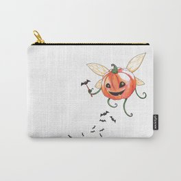 Happy Pumpkin Fairy Carry-All Pouch