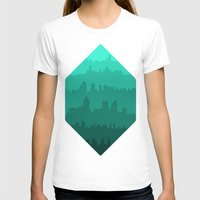 skyline T-shirts featuring Skyline by Zeke Tucker