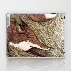 La Ruse du renard (The Sneaky Red Fox) Laptop & iPad Skin