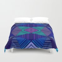 tapestry Duvet Covers featuring Tapestry  by Truly Juel