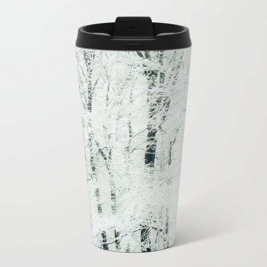 frosted Metal Travel Mug