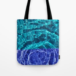Blues Spiral Tote Bag