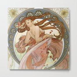 Alfons Mucha Metal Print