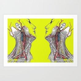 Dual anatomy Art Print