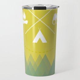 Let's Camp Out Travel Mug