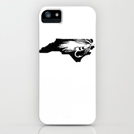 North Carolina Fly Fishing Hook River iPhone Case