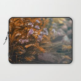 Misty Morning Behind The Garden Wall Laptop Sleeve