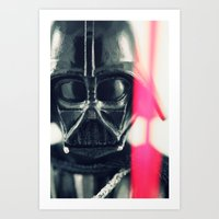 vader Art Prints featuring Vader by Fanboy30