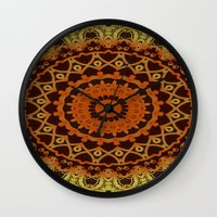 morocco Wall Clocks featuring Morocco by Kimberly McGuiness