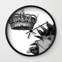 mercedes Wall Clocks featuring Colección Reina Mercedes by Reina Mercedes