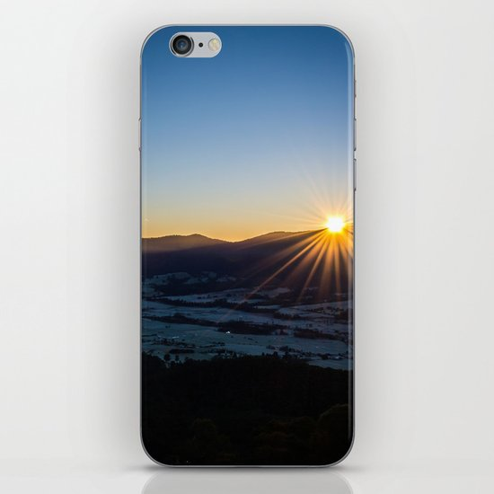 Valley Sunrise iPhone & iPod Skin