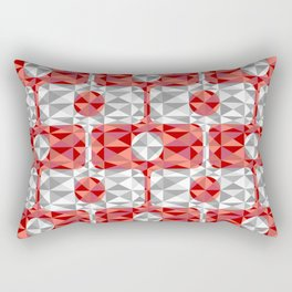Calçadão Santos City Rectangular Pillow