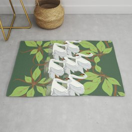 12 Days of Christmas: Seven Swans A Swimming Rug