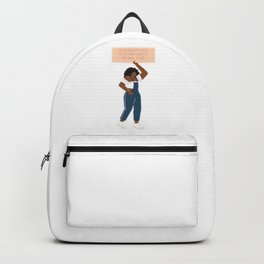 I Shouldn't Have To Worry About My Skin Tone Backpack