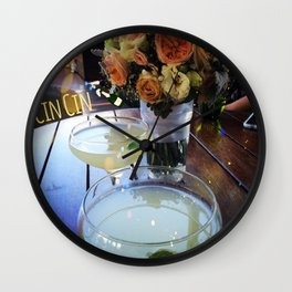 Cin Cin Wall Clock