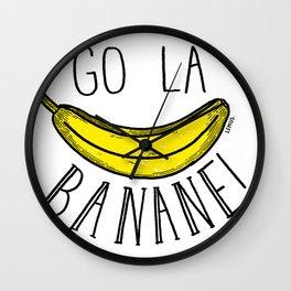 Go la banane! Wall Clock