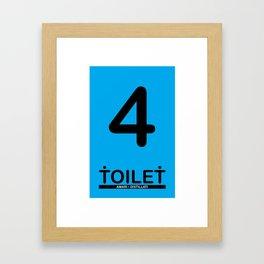 TOILET CLUB #4 Framed Art Print