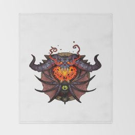 Warlock Sigil Throw Blanket