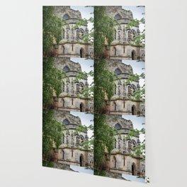 Rosslyn Chapel outside Edinburgh, Scotland Wallpaper