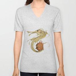 Dragon ith turtle Unisex V-Neck