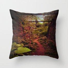 Hidden Path Throw Pillow