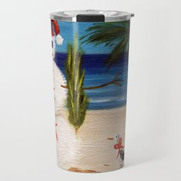 Christmas Sandman Travel Mug