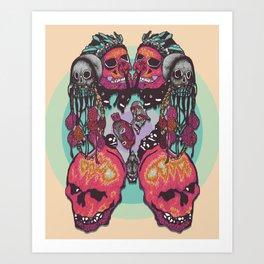 Skull Pact Art Print