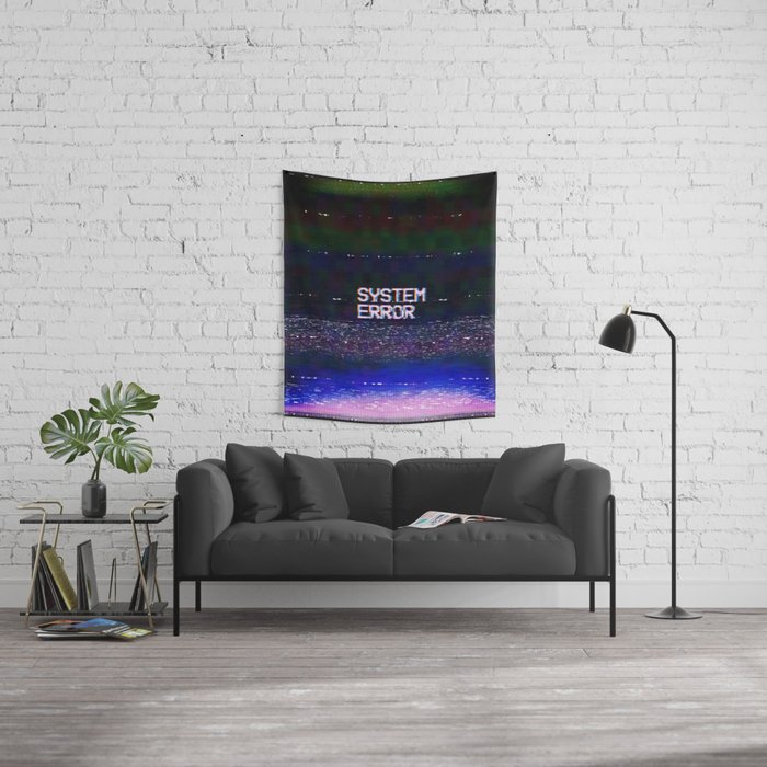 System Error Wall Tapestry
