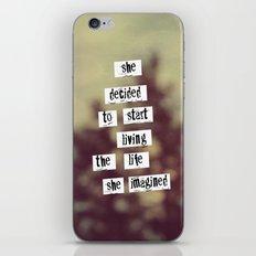 Her Life iPhone & iPod Skin