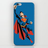 dc iPhone & iPod Skins featuring DC - Superman by TracingHorses