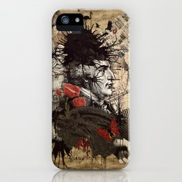 The Journalist iPhone Case