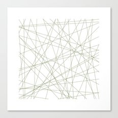 #191 Forty-nine straight lines – Geometry Daily Canvas Print
