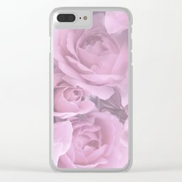Pink Rose Bouquet Romantic Atmosphere #decor #society6 #buyart Clear iPhone Case