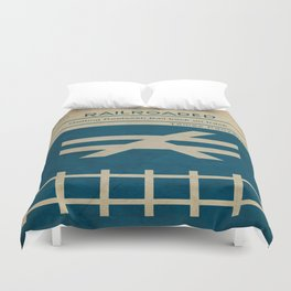 Railroaded Duvet Cover