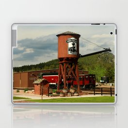 Water Tower Of The Black Hills Central Railroad Laptop & iPad Skin