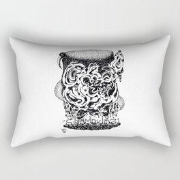 Birdhat Rat Rectangular Pillow