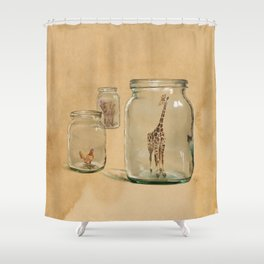 Glass Menagerie Shower Curtain