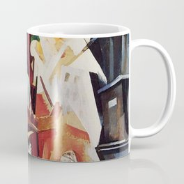 "Robert Delaunay ""Graphic Champs de Mars: The Red Tower"" Coffee Mug"
