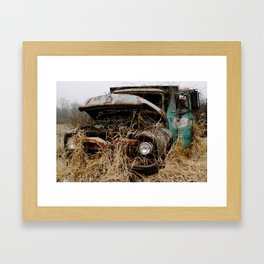 Nature always wins Framed Art Print