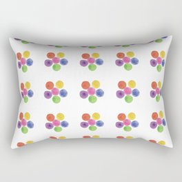 In Living Color Rectangular Pillow