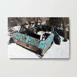 Ridin Dirty Metal Print