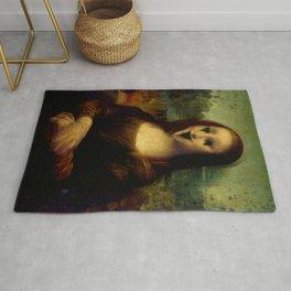 Haunted Mona Lisa Rug