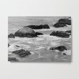 No Swimming Today Metal Print