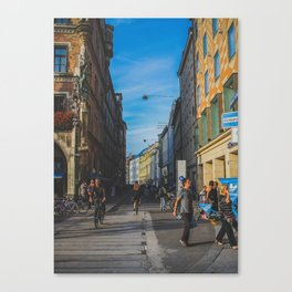 Another Street Canvas Print