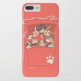 Haikyuu!! Nekoma Team iPhone Case