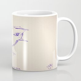 Study Hard Bird Coffee Mug
