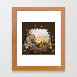 Woodland Tales Framed Art Print