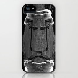 Black & White Arabian Horses iPhone Case
